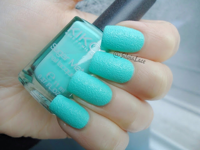 Silvia Lace Nails: Kiko Sugar Mat 636