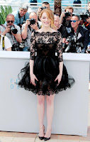 Emma Stone at the 'Irrational Man' 2015 Cannes Film Festival photocall