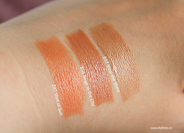 L'Oreal - Color Riche Shine Lippenstifte 'The Naked Tans'