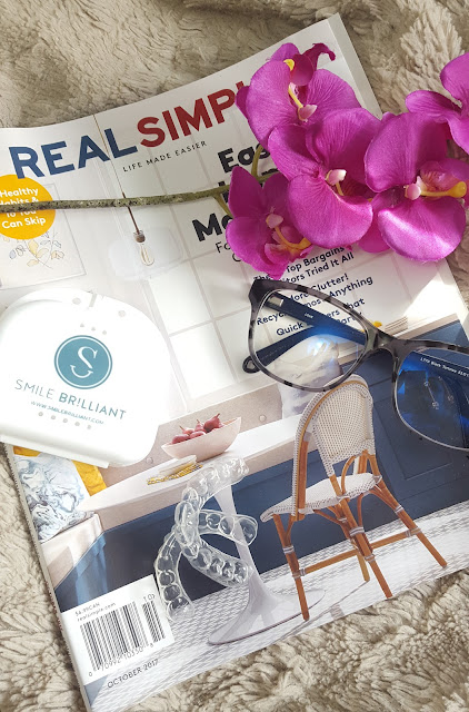 whitening your teeth at home is super easy with a whitening kit from smile brilliant