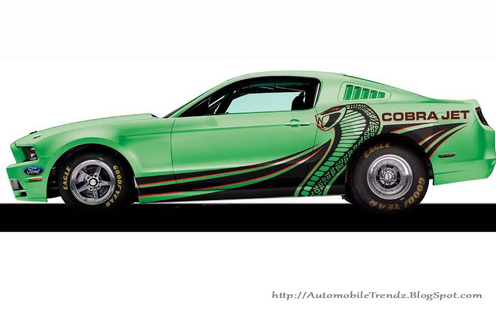 Mustang Cobra Jet >> Automobile Trendz 2014 Ford Mustang Cobra Jet