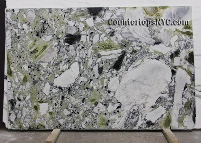 Amazonia Green Classic Marble Slab Polished NYC
