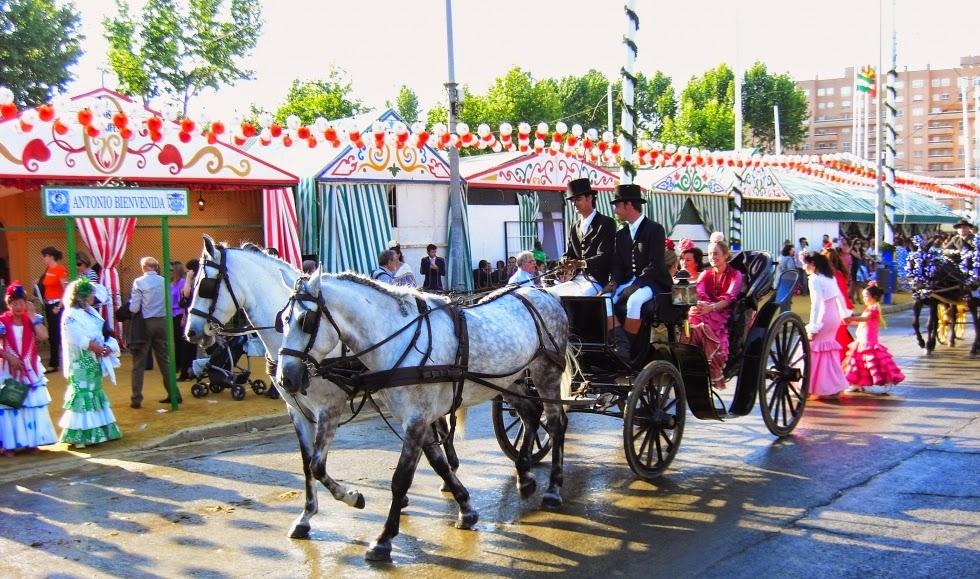 Travel to Sevilla´s Feria in Spain