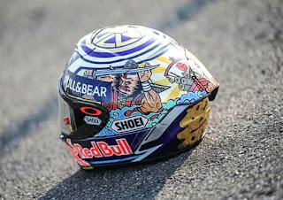 Inilah Helm Marc Marquez Spesial Japan