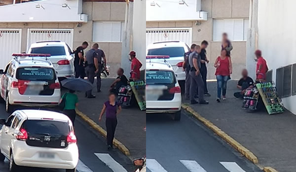 Ladrão agride e rouba vendedor ambulante, mas acaba preso pela PM em Pinhal