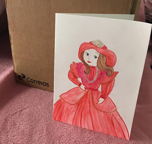 ilustração com a boneca que restauramos