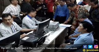CETAR!!! Pak SBY dan Bu Ani Datangi Bareskrim, Ini Nama Orang yang Dilaporkannya