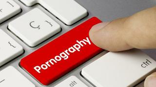 Pornography Button on Keyboard