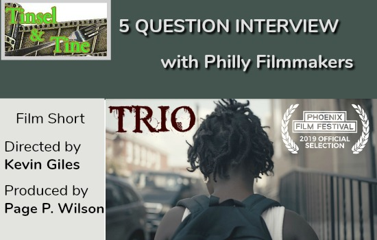 Interview Film in Philly Trio Local Filmmaker