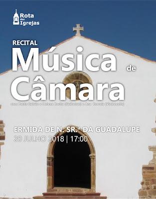 Música de Câmara «invade» ermida de Nossa Senhora de Guadalupe