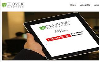 clover infotech jobs 2017