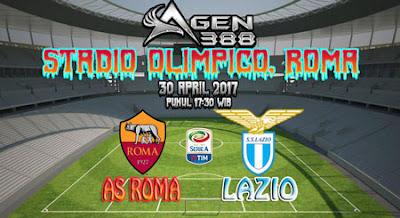 JUDI BOLA DAN CASINO ONLINE - PREDIKSI PERTANDINGAN LIGA ITALIA SERIE A AS ROMA VS LAZIO 30 APRIL 2017