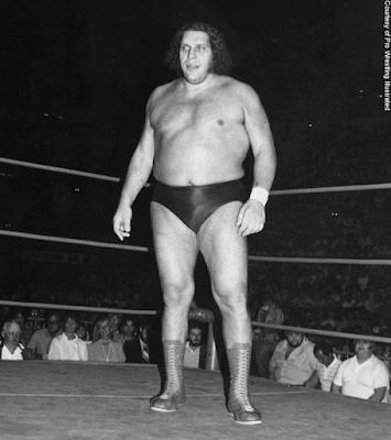 Fotos épicas de André el gigante