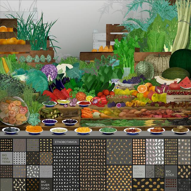 frutas, semillas, verduras , legumbres,