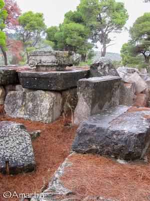 Sanctuaire d'Esculape, Epidaure, Argolide, Péloponnèse, Grèce