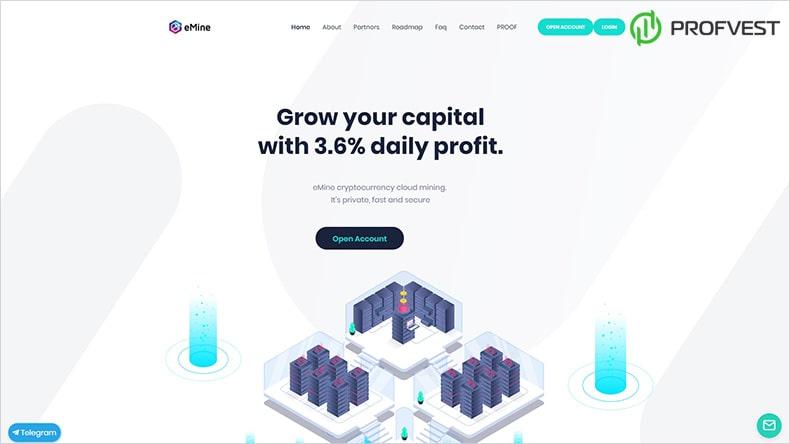 eMine обзор и отзывы HYIP-проекта