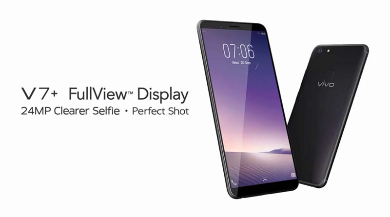 Vivo V7+ FullView Display Dengan Kamera Depan 24MP Bagi Pecinta Selfie