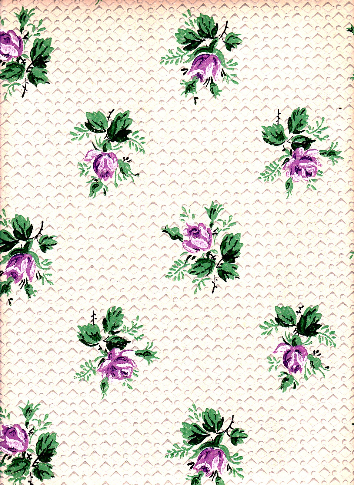 Madeline's Memories: More Vintage Wallpaper Samples