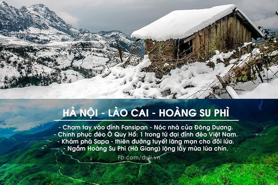 Hà Nội - Lào Cai - Hoàng Su Phì