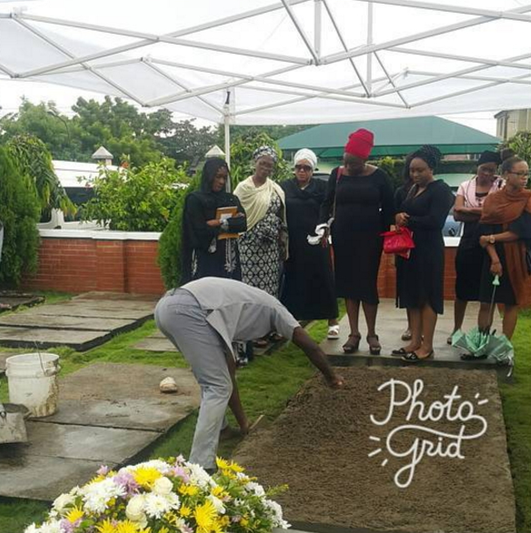 olanike disu burial photos