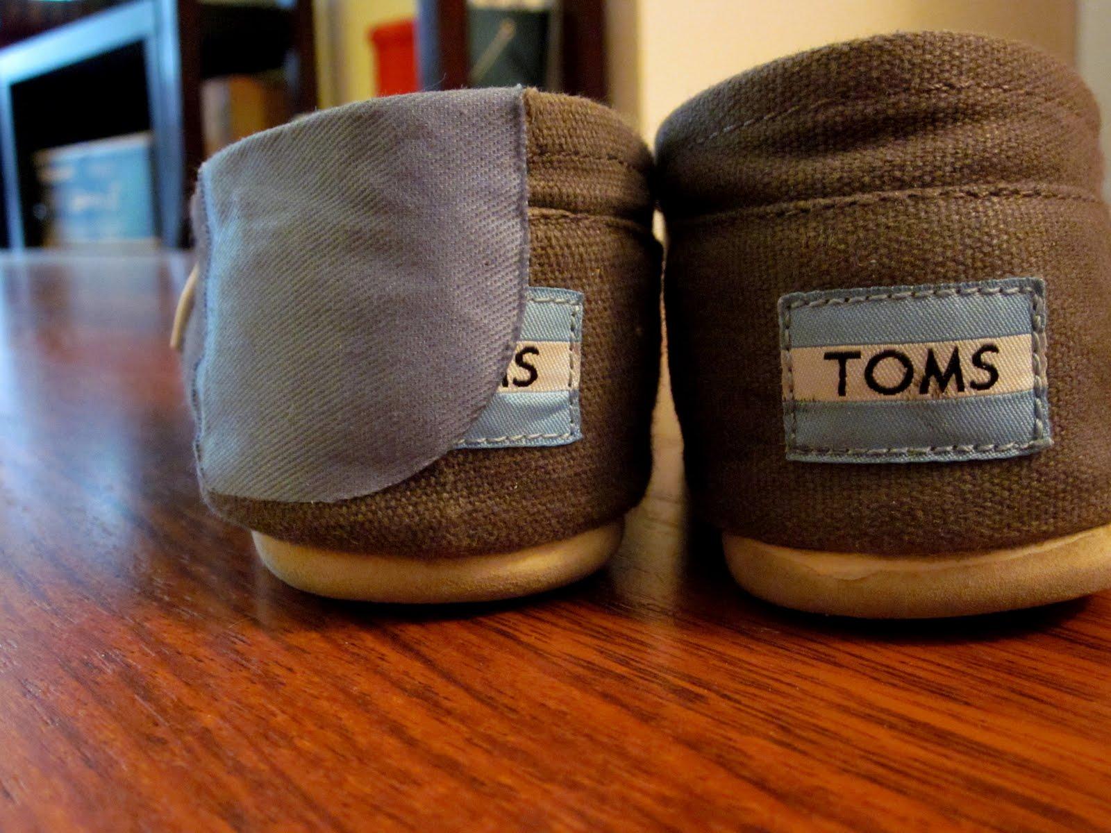 Toms Shoes Light Blue