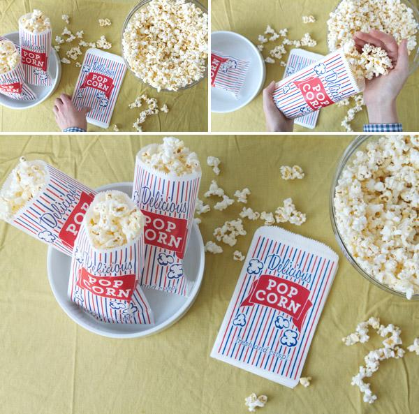 Parsimonia {Secondhand With Style} Fav Freebie {Printable Popcorn Bags}