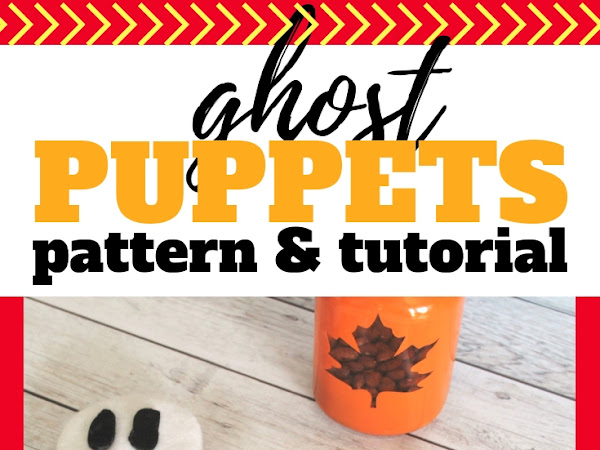 Ghost Puppets Pattern & Tutorial
