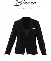 limited shoping korean style  jas blazer single button