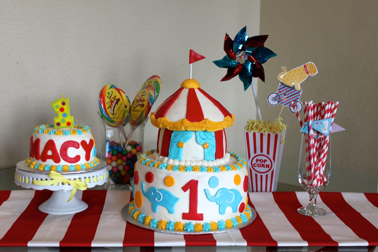 Just a Little Party Little Party Feature BIG TOP CIRCUS 1st