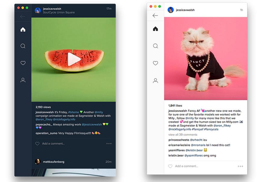 Ramme Aplikasi Instagram Desktop untuk Windows, Ubuntu dan MacOS