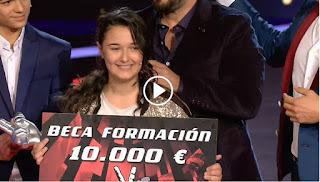 Rocío Aguilar Ganadora de La Voz Kids 2017