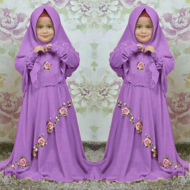 Fashion Anak Perempuan Hijab Masa Kini