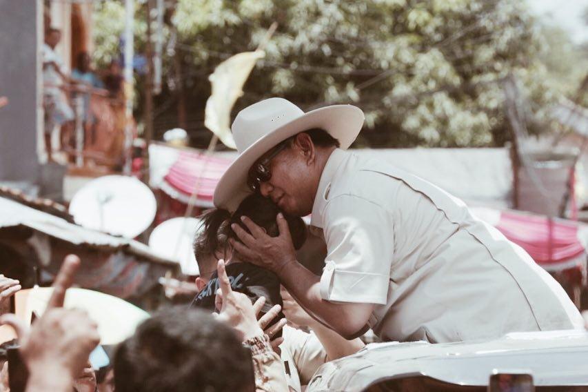 Prabowo: Saya Hentikan Dulu, Ada Azan