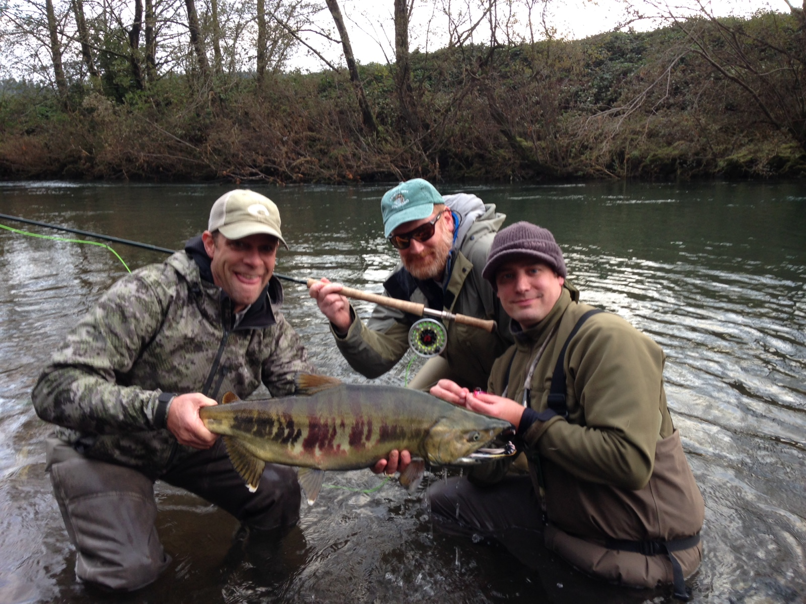 Fall Salmon Fishing and Busted Rods – Water Time Outfitters