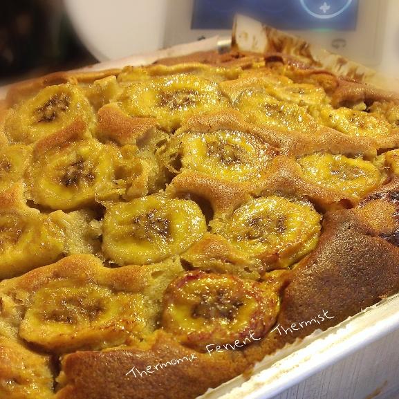 Banana Moist Cake Thermomix
