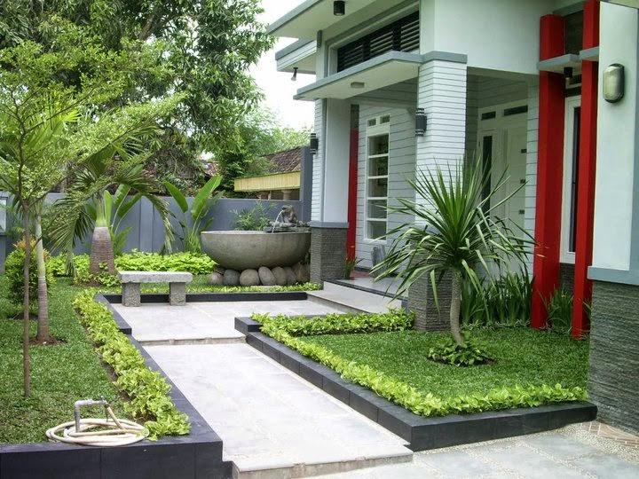 Bentuk dan Contoh Gambar Model Teras Rumah 1