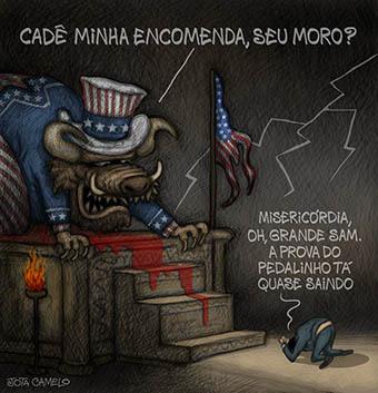 Resultado de imagem para Moro é um agente da CIA