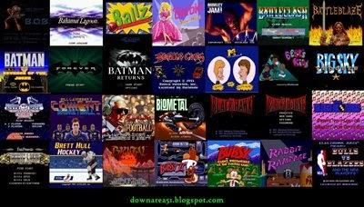 Kumpulan Game SNES Abjad B - Download Game Roms Isos