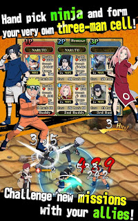 Naruto Ultimate ninja Blazing apk Mod 3