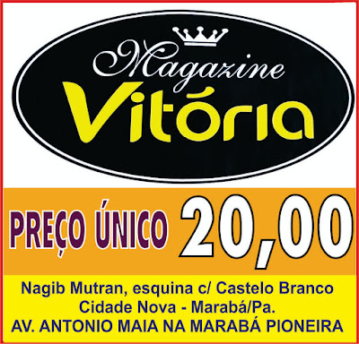 MAGAZINE VITÓRIA - PREÇO ÚNICO R$ 20,00