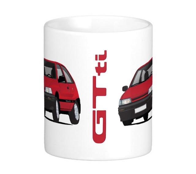 Daihatsu Charade GTti coffee mugs