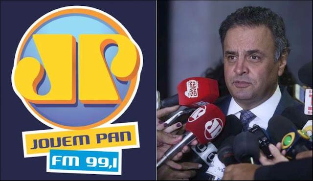 Ministerio Publico pede o Fim da Jovem Pan de Aecio Neves