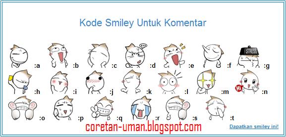 Cara Membuat Emoticon Smiley untuk dipasang di komentar Blog