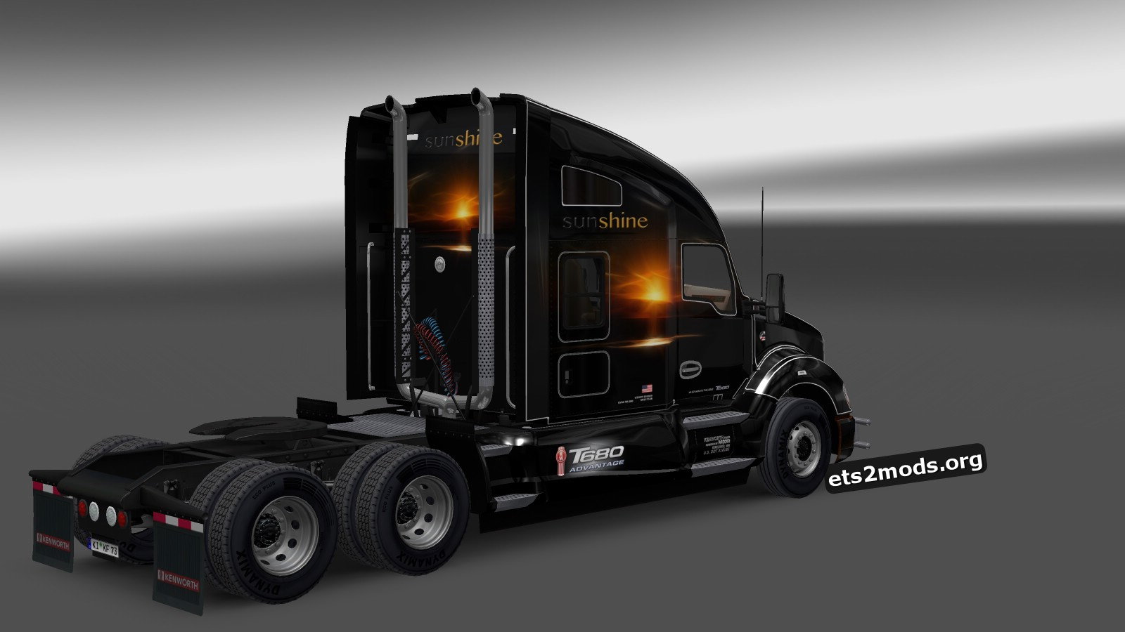 Sunshine Skin for Kenworth T680