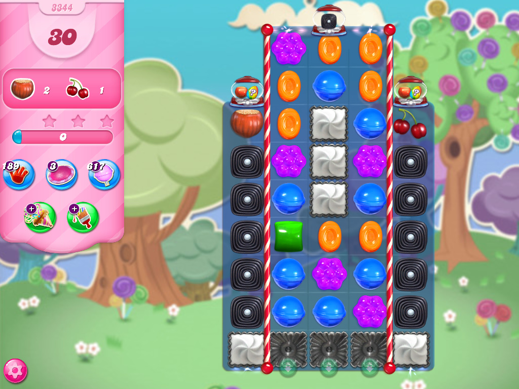 Candy Crush Saga level 3344