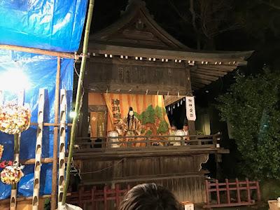 久伊豆神社縁起市里神楽(平成28年12月15日)