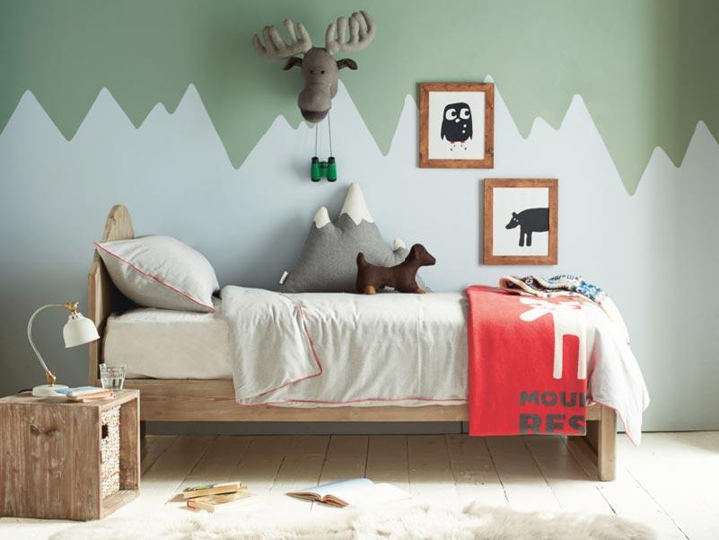 letto singolo legno ecologico di Loaf