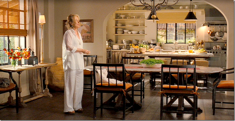 It's Complicated movie Meryl Streep in farmhouse cottage kitchen