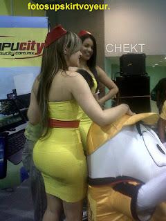 sexy-modelo-culote-vestido-ajustado