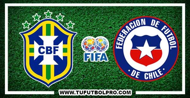 Ver Brasil vs Chile EN VIVO Por Internet Hoy 10 de Octubre 2017